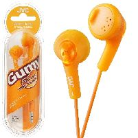 Headphone Gumy Base Boost Stereo Headphones Orange