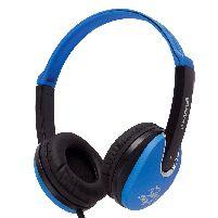 Headphone Kidz Dj Style Headphones Blue