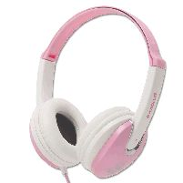 Headphone Kidz Dj Style Headphones Pink