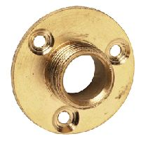 Electrical Accessories 1/2 Inch Brass Back Plate
