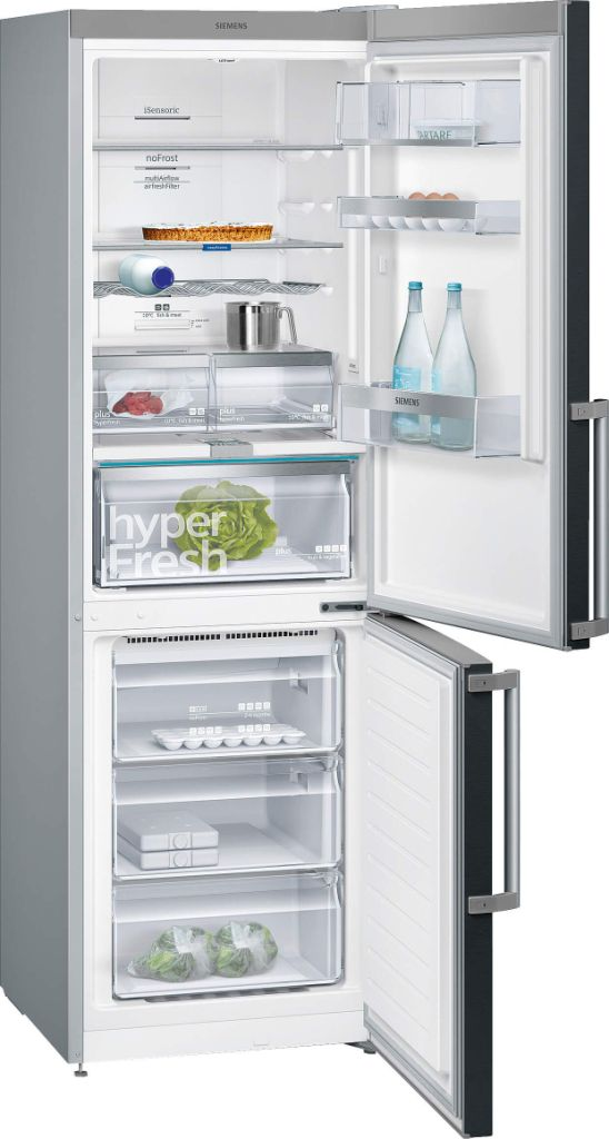 60cm Wide - Frost Free 186h 60w Fridge Freezer