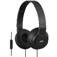 Headphone Powerful Bass Headphones With Remote Mic Blk