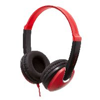 Headphone Kidz Dj Style Headphones Red