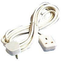 Extension Leads 1 Gang 5m Trailing Socket 13amp White