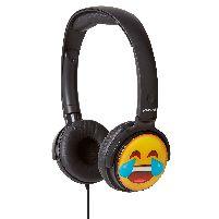 Headphone Earmojis Dj Style Headphones Laughing Face