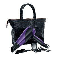 Hairdryer/ Styler Glamorous Of All Hairdryer Giftset W/handbag