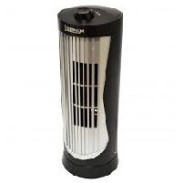 Cooling Fan 12 Inch Mini Tower Fan Black And Silver