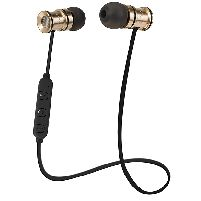 Earphone Bulletbuds Wireless Earphones With Remote Mic Gold