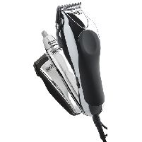 Male Grooming Deluxe Chrome Pro Clipper Kit