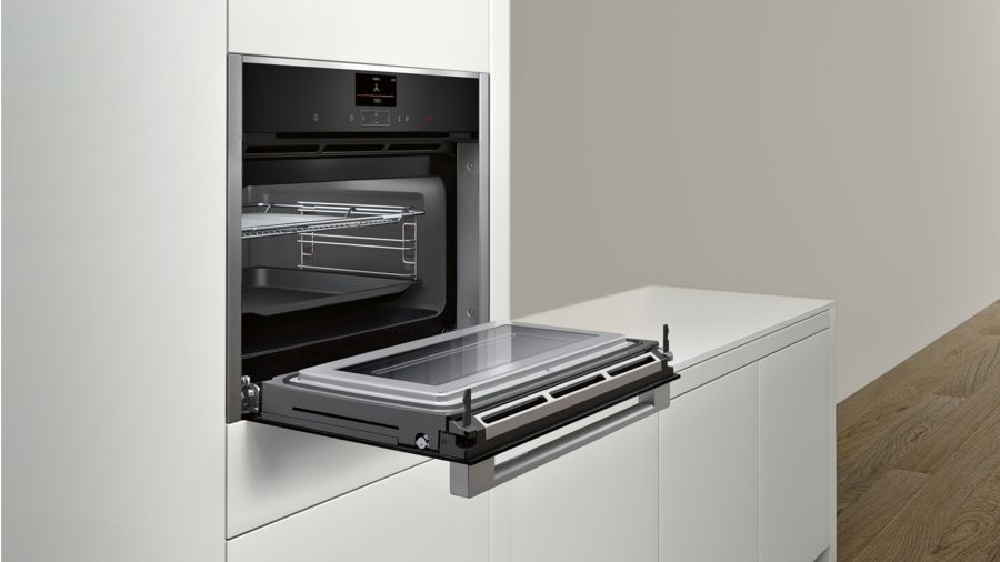 Grill And Oven Combination Built-In Microwave