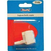 Telephone Accessories Compact Double Adaptor