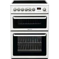 60cm Electric Cooker With Glass Ceramic Hob