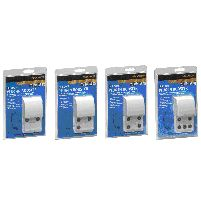 Aerial 4 Room Plug In Signal Booster Silver