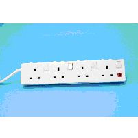 Extension Leads 4g 2m 13a Indiv Switched Ext Lead Clamshell