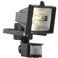 Outdoor Light (dno) 120w Floodlight With Pir Black