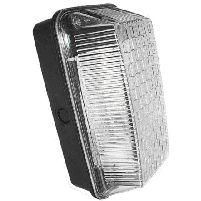 Outdoor Light 100w Bulkhead Light Fitting Black