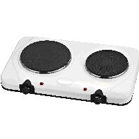 Table Top 2250w Double Hotplate  White