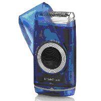 Shaver Mobileshave Smart Foil Battery Shaver Blue
