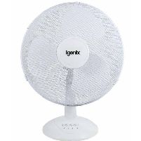 Cooling Fan 16 Inch Desk Fan  White