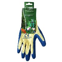 Hardware Essentials Medium Latex Gardening Gloves