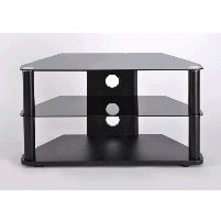 Tv Stands 26inch - 37inch Classik Corner Tv Stand Black
