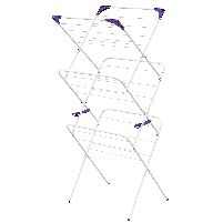 Ironing Board/ Airer Essentials 3 Tier Airer 14m Stable And Strong